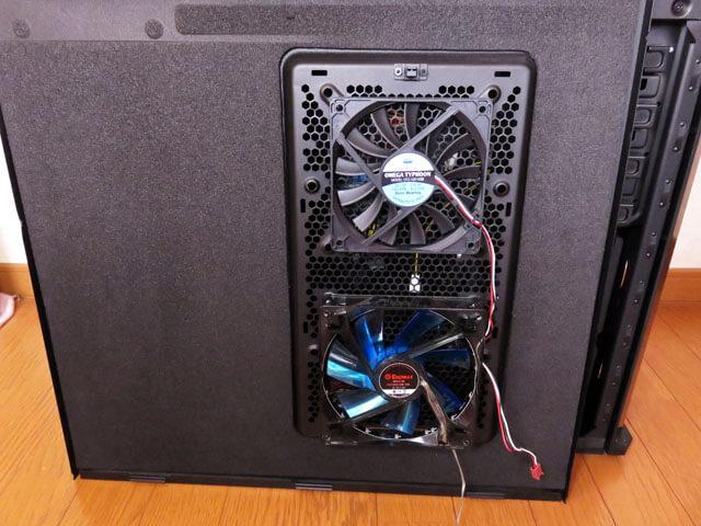 メイン機@自作PCのサイド上側に薄型ファンを取り付ける!