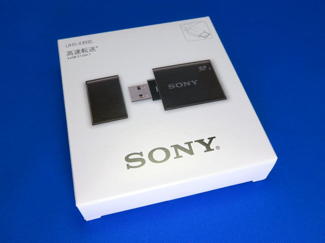 SONY SDメモリーカードリーダーライター MRW-S1を購入する!
