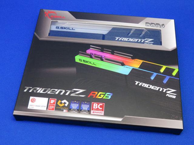 メモリ G.SKILL F4-3200C16D-32GTZRX 32GB for Ryzen用を購入!