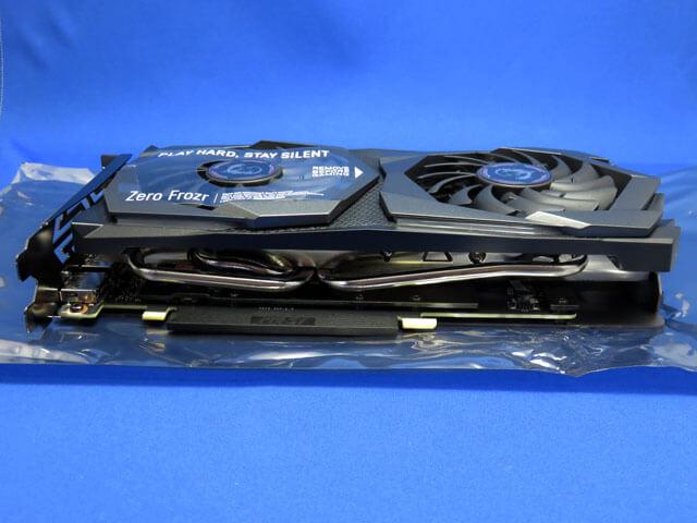 グラフィックボード MSI GEFORCE GTX 1660 GAMING X 6G を購入!