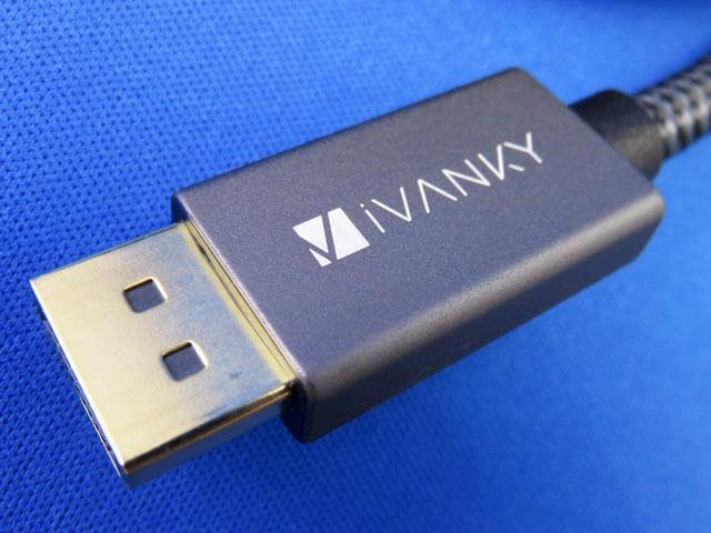 低価格なiVANKY製の4K60Hz対応DisplayPortケーブルを購入する!