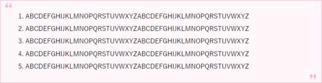 【Cocoon】引用スタイルのリスト表示のカスタマイズ