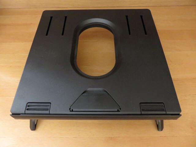 エレコム 折りたたみノートPCスタンド PCA-LTSH8BKについて