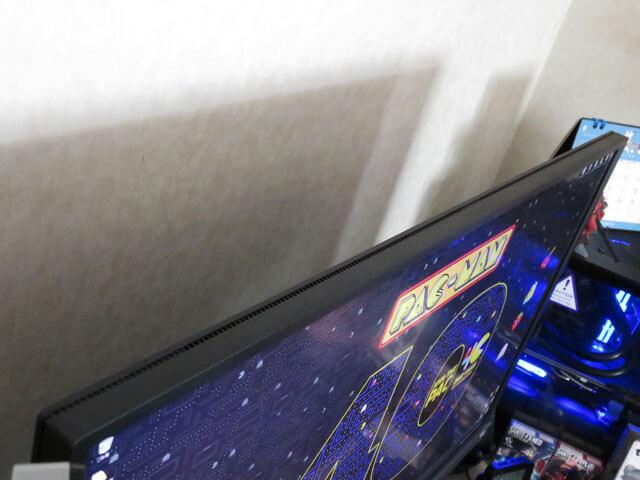 エレコムAVD-TVTS01BKでモニタ上のデッドスペースを活用する!