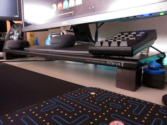 PC環境改善の一環としてデスクトップシェルの脚を変更する!