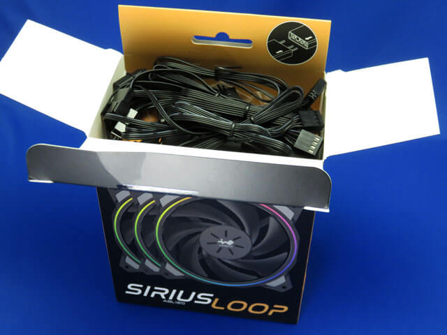 メインPCのPCファンをIN WIN Sirius Loop ASL120に変更する!