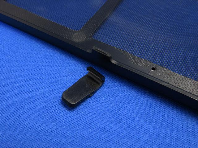 PCケース NZXT H210のフィルターの爪が折れたので修復する!