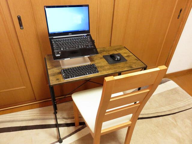 【レビュー記事】Dikazoku 折りたたみ 省スペース PCデスク